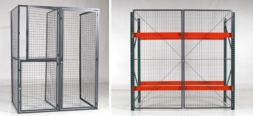 Silicon Valley Shelving, Wire Partitions