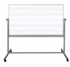 modular music whiteboard